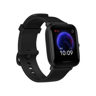 AMAZFIT 华米Pop智能手表运动健康血氧睡眠心率监测9天续航NFC公交门禁 炭黑