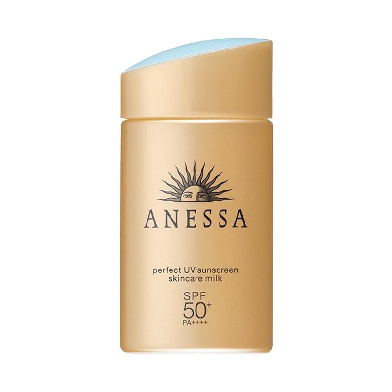 ANESSA 安热沙 金瓶防晒霜 60ml 2020年版 *4件+凑单品