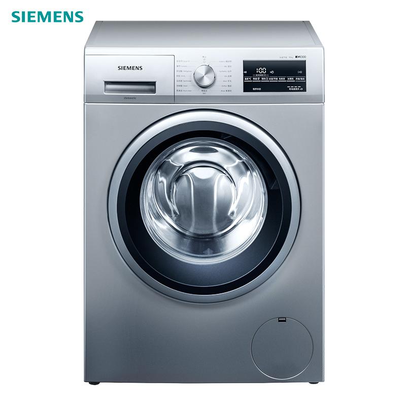SIEMENS 西门子  WM12P2E82W 变频 滚筒洗衣机 10KG 银色