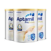 Aptamil 爱他美 白金版婴幼儿奶粉 3段 900g 3罐装