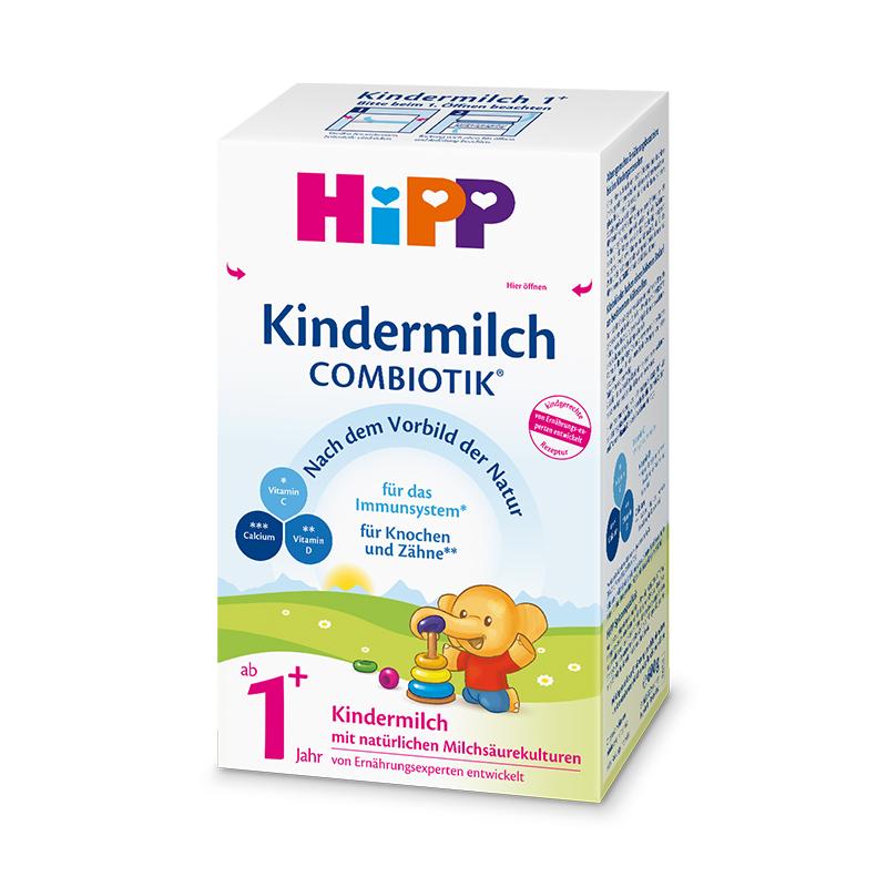 喜宝(HiPP) 益生元系列 益生菌婴幼儿配方奶粉 1+段/4段 (1-2岁)600g/盒 德国原装进口 +凑单品