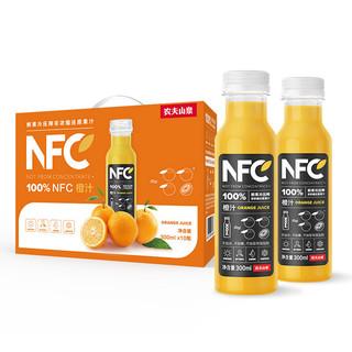 NONGFU SPRING 农夫山泉 100%NFC橙汁 300ml*10瓶