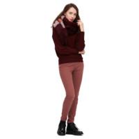 暖爱季:UNIQLO 优衣库 429114 女士高弹休闲裤