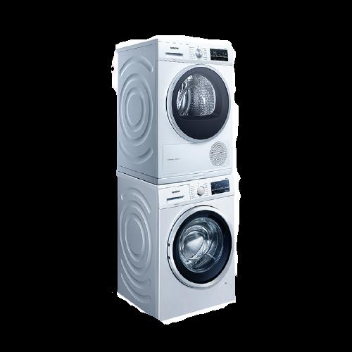 SIEMENS 西门子 WM14P2602W+WT47W5601W 洗烘一体机