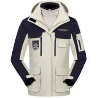 AIR TEX 亚特 AT5A22W6138 三合一加厚加绒冲锋衣