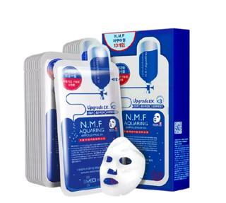 MEDIHEAL 美迪惠尔 N.M.F针剂水库水润保湿面膜 10片