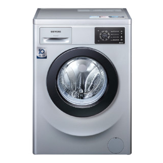 SIEMENS 西门子 IQ100系列 WM12L2R88W 滚筒洗衣机 8kg 银色