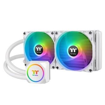 Thermaltake TH240 ARGB 白雪版 一体式CPU水冷散热器