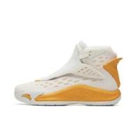 ANTA 安踏 汤普森联名系列 KT5 男士篮球鞋 11941101-5 安踏白/橘黄 40