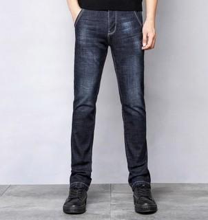 JEEP 吉普 19MA206JS0007 男士牛仔裤