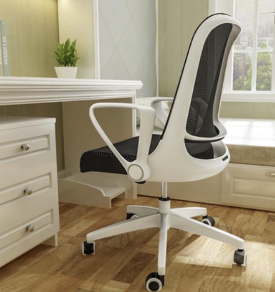 LIANFENG 联丰 W-158B 可升降电脑椅 黑白色
