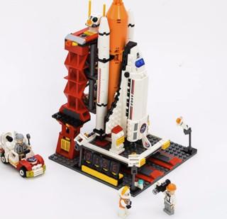 GUDI 古迪 航天航空系列 8815 航天飞机发射中心 679颗粒