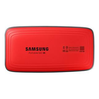 SAMSUNG 三星 MU-PB1T0B/WW 固态硬盘 1TB 雷电3接口 红黑