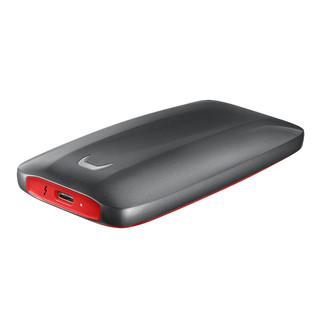 SAMSUNG 三星 MU-PB2T0B/WW 固态硬盘 2TB 雷电3接口 红黑