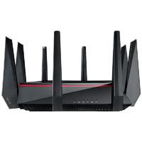 ASUS 华硕 RT-AC5300 三频5300M WiFi 5 家用千兆无线路由器 Wi-Fi 5 黑色