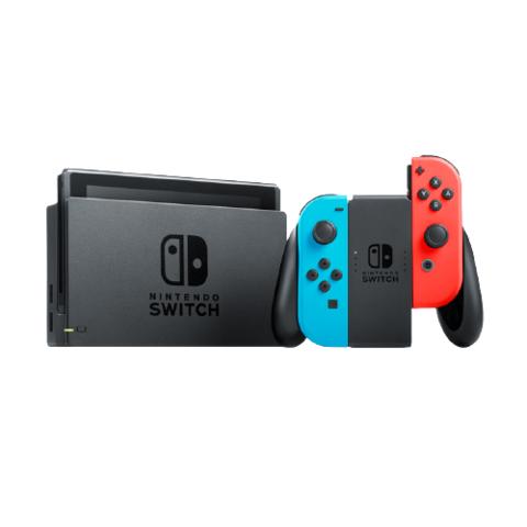 任天堂 Nintendo Switch 国行续航增强版 NS家用游戏机掌上游戏机