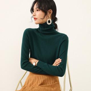 100%山羊绒经典气质打底毛衣女针织纯羊绒衫