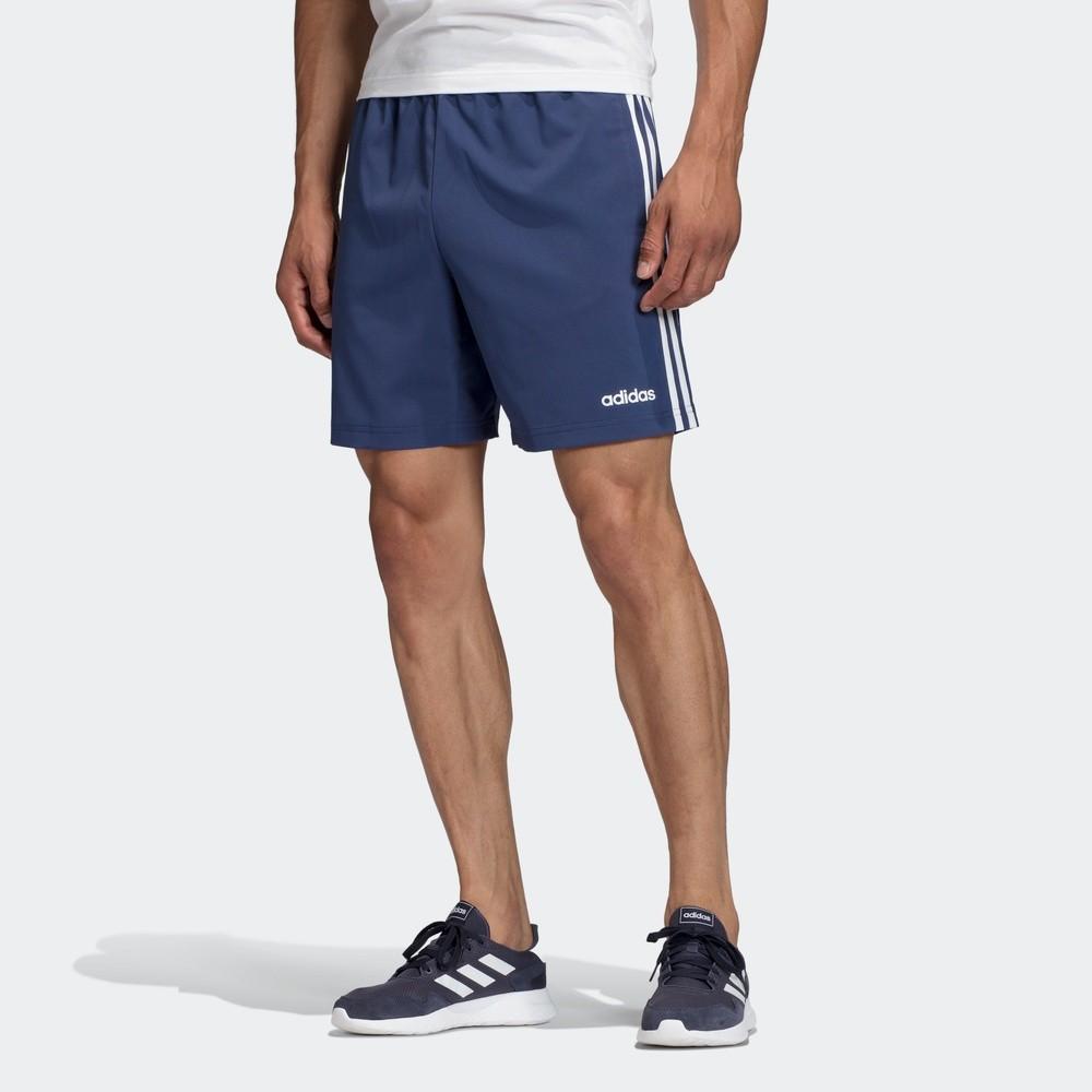 adidas 阿迪達斯 E 3S CHELSEA FM6217 男士運動短褲  科技靛藍/白 A/L(180/86A)