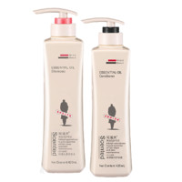ADOLPH 阿道夫 轻柔洗护套装 2件套(轻柔丝滑洗发水420ml+护发素420ml)