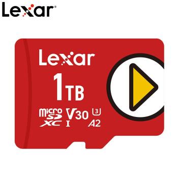 雷克沙(Lexar)TF卡 1TB 存储卡 PLAY switch内存卡任天堂NS游戏机存储卡