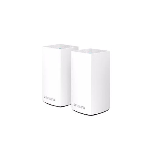 LINKSYS 领势 Velop WHW0102 1300M WiFi 5 分布式路由器 白色 两只装
