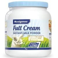 Maxigenes 美可卓 蓝胖子 全脂脱脂奶粉罐装 1kg