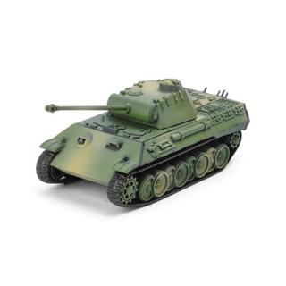 乐加酷  二战豹式A型1:72坦克4D拼装模型