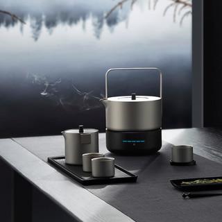 INGO 铟果集 茶壶 1L 钛空灰