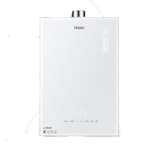 Haier 海尔 海尔(Haier)16升双增压双循环零冷水燃气热水器天然气WIFI/语音智控家用智慧家电 JSQ30-16WN5S(12T)U1白