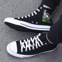 CONVERSE 匡威 All Star 167179C 男/女款高帮帆布鞋