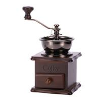 亚米(Yami)小木手摇磨豆机 咖啡豆研磨机便携家用手动粉碎咖啡机 YM8521