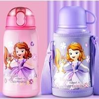 Disney 迪士尼 儿童吸管保温水杯 600ml