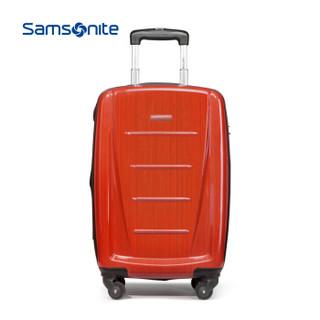 Samsonite/新秀丽拉杆箱 ins网红旅行箱行李箱密码箱06Q 拉丝橙色 20寸
