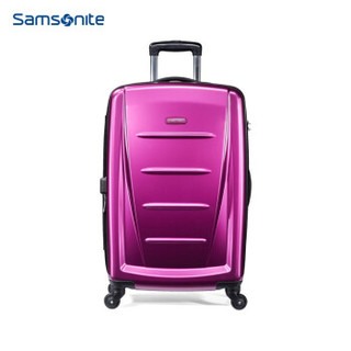 Samsonite/新秀丽拉杆箱 ins网红旅行箱行李箱密码箱06Q 紫红色 20寸