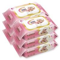 有券的上、京东PLUS会员:五月花 湿巾纸 婴儿手口可用 80片装*6包  +凑单品