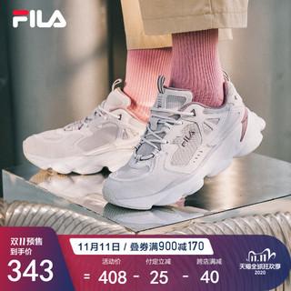 FILA 斐乐女鞋老爹鞋2020秋冬ins潮情侣男跑鞋复古运动鞋透气休闲