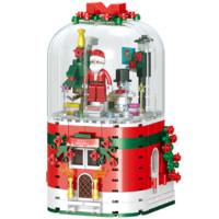 汇奇宝 QL0981 圣诞老人音乐盒 355颗粒