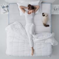 CatzZ 瞌睡猫 防螨弹簧椰棕床垫 蓝净灵C3 椰棕款 150*200cm
