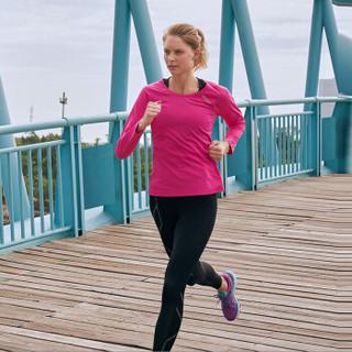 2XU MCS 女士精英梯度压缩裤 专业马拉松越野跑步运动紧身裤速干健身服暴汗服 WA5332b-黑色+黑色logo S