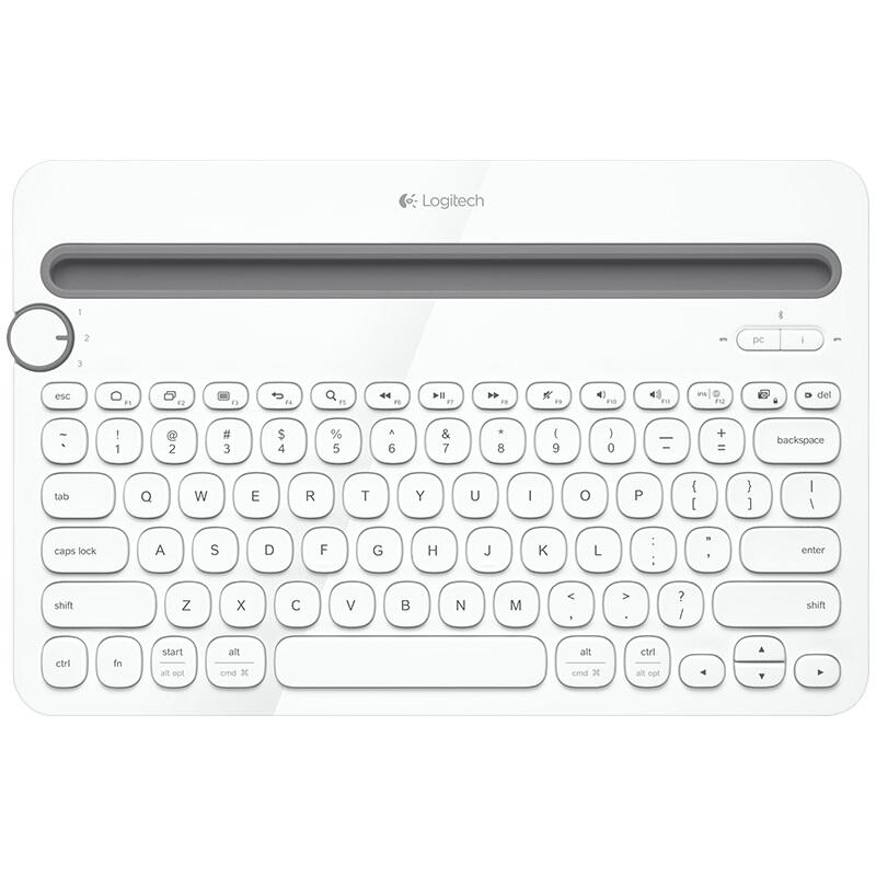 Logitech 罗技 K480 无线键盘+鼠标套餐 白色