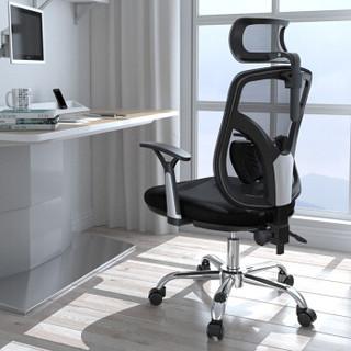 历史低价、京东PLUS会员 : SIHOO 西昊 M56 人体工学电脑转椅 黑色