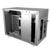 12日0点:FSP 全汉 CST410 ITX机箱 银色