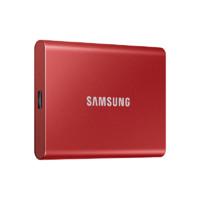 SAMSUNG 三星 T7系列 固态硬盘 2TB USB3.2接口 MU-PC2T0 火星红