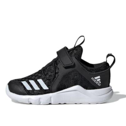 adidas 阿迪达斯 RapidaFlex BTH EL I 婴童训练学步鞋 G28706 黑色 20