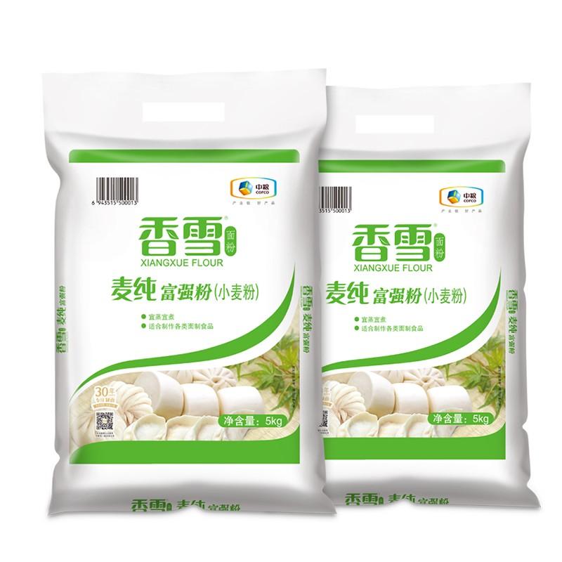 88VIP : 香雪 麦纯富强小麦粉 5kg*2包
