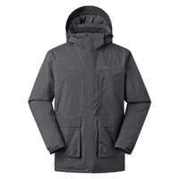 Marmot 土拨鼠 V32530E001 男士中长款棉服外套