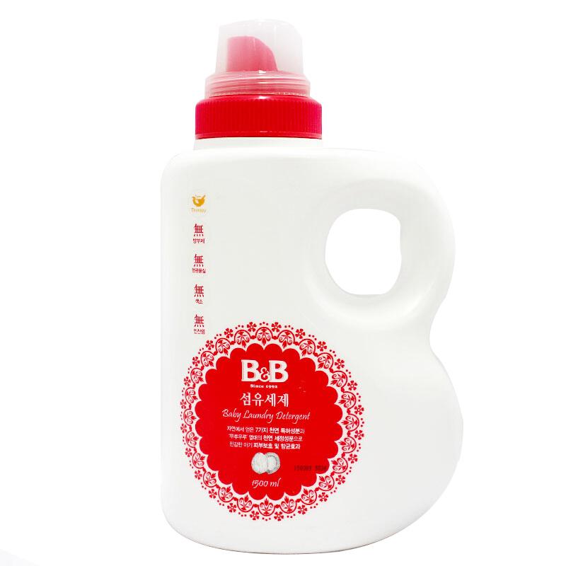 B&B 保宁 婴幼儿洗衣液 香草型 1500ml