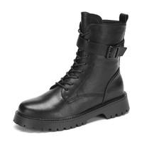 DAPHNE 达芙妮 2041210856115 女士马丁靴