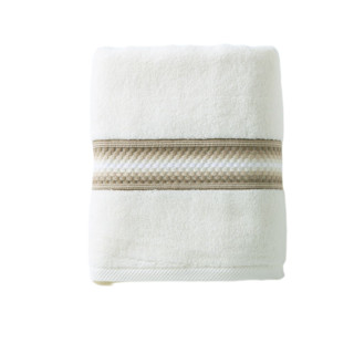 KINGSHORE 金号 纯棉防螨抗菌浴巾 成人男女儿童加大毛巾 家用吸水酒店沙滩巾