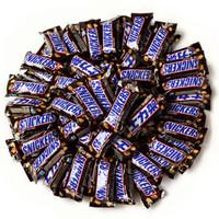 SNICKERS 士力架 花生夹心巧克力 1kg *2件